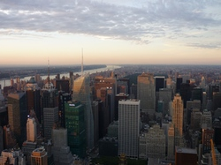 New York depuis l'Empire State Building